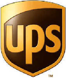 New UPS logo: revised shield with no parcel